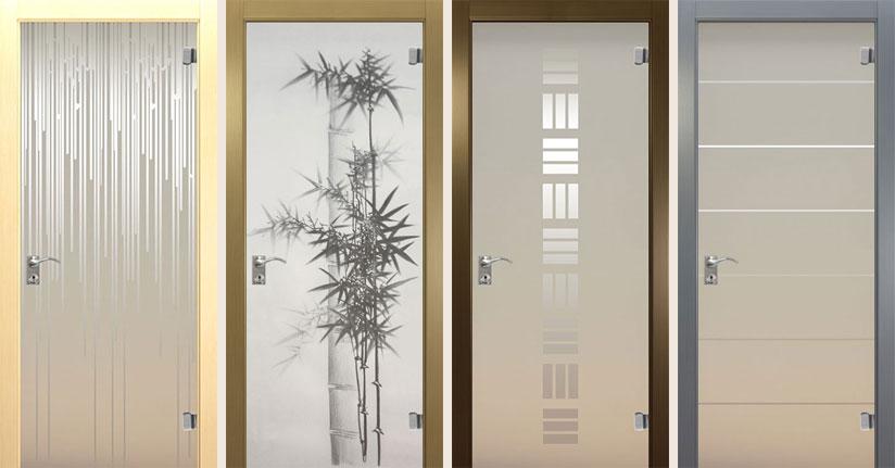 Стеклянные двери Trend от производителя Океан