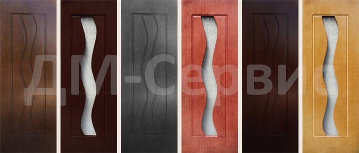 Шпонированные двери «Вираж»