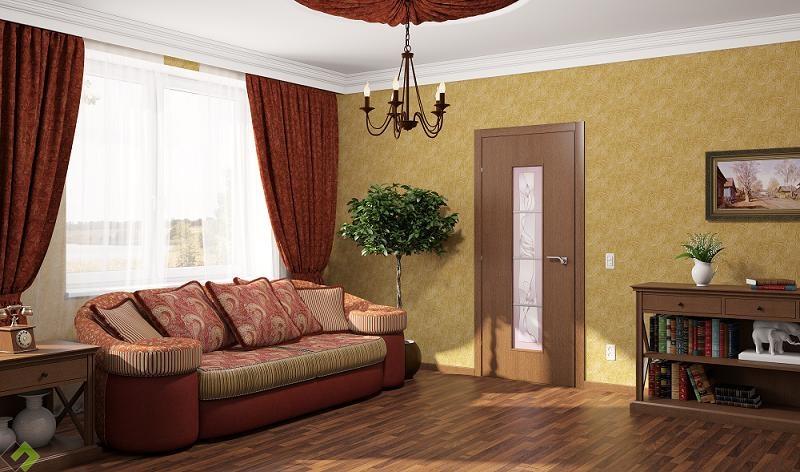 дверь с покрытием cpl
