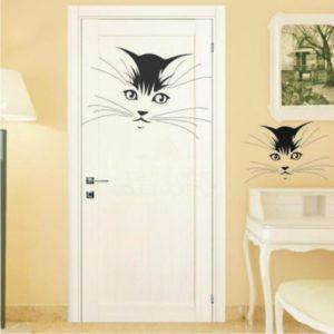 межкомнатная дверь с рисунком