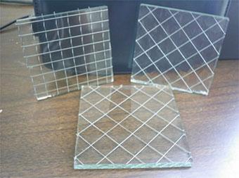 прозрачное армированное стекло