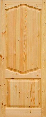 сосновая дверь