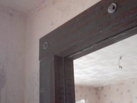 укрепление дверного проема