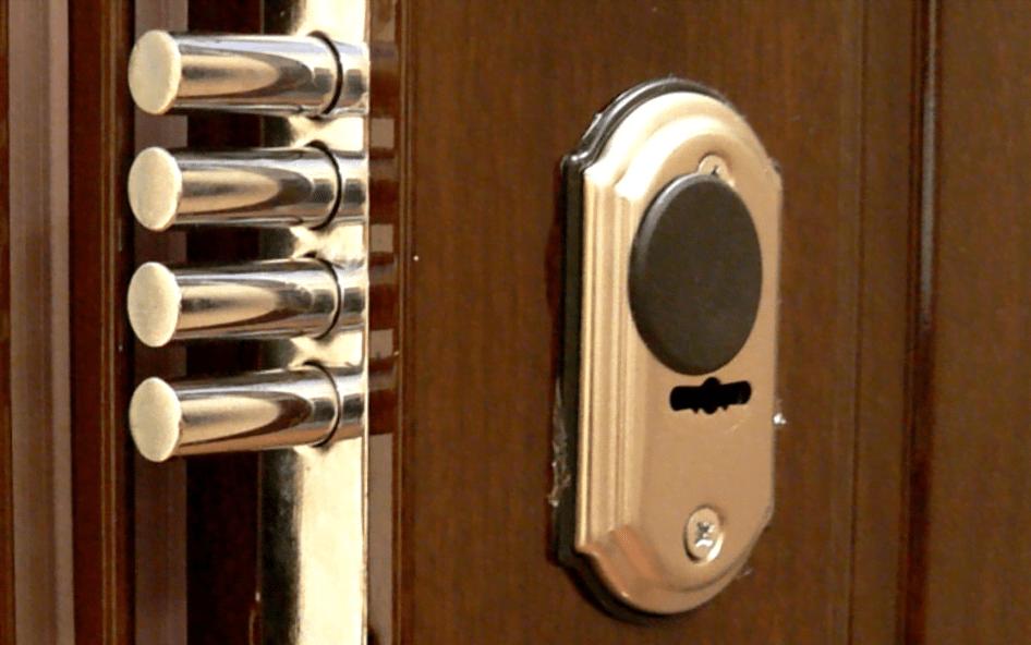 ригельный замок для двери