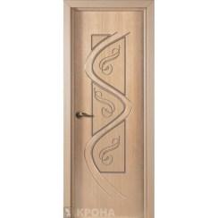 Межкомнатная дверь с натуральным шпоном «Вега ДГ» (глухая)