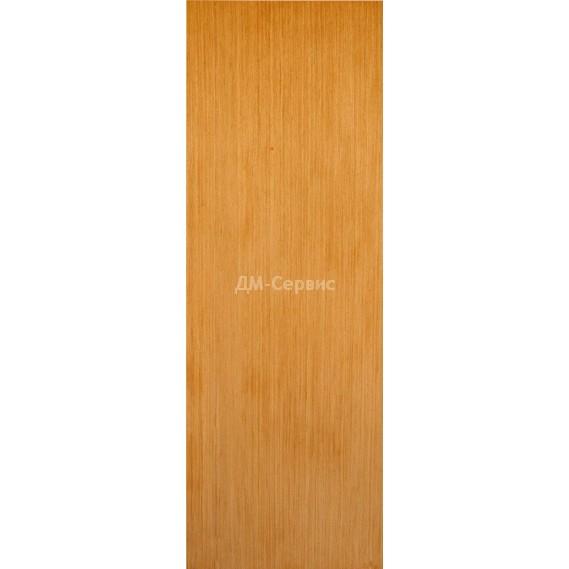 Строительная шпонированная дверь «ГШП» (дуб, глухая)