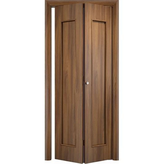 Складная дверь «книжка» C-17 ДГ (глухая)