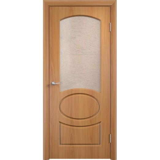 Межкомнатная дверь с пленкой ПВХ «Неаполь ДО» (со стеклом)