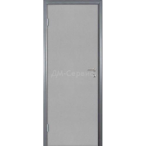Строительная дверь облицованная пластиком CPL (глухая)