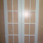 Двери крашенные под остекление