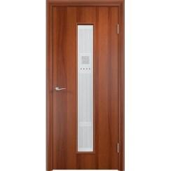 Межкомнатная ламинированная дверь «C-21 Х Модерн» (со стеклом)