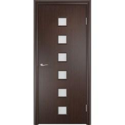 Межкомнатная ламинированная дверь «C-9 ДО» (со стеклом)