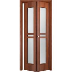 Складная дверь «книжка» C-23 ДО (со стеклом)