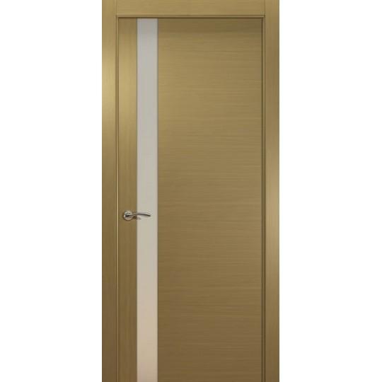 Межкомнатная шпонированная дверь «De Vesta L Белый» (со стеклом)