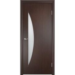 Межкомнатная ламинированная дверь «C-6 ДО» (со стеклом)