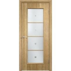 Межкомнатная дверь экошпон «C-8 Ф» (со стеклом)