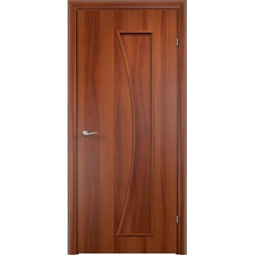 Строительная дверь с четвертью ДСЧ 75 (глухая)