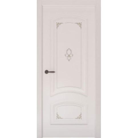 Межкомнатная дверь с эмалью «Flora 4» (глухая)