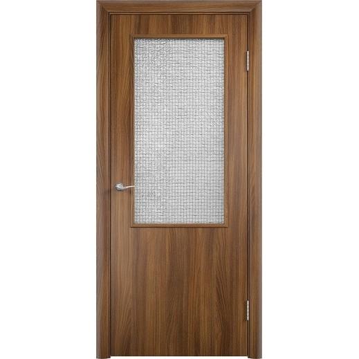 Строительная усиленная дверь ДП ПО (со стеклом)