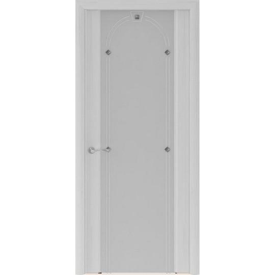 Межкомнатная шпонированная дверь «Murano-3 Матовое» (со стеклом)