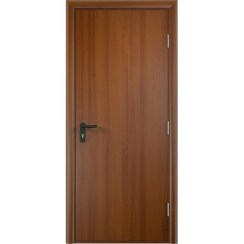 Строительная противопожарная дверь «ДПГ» (лесной орех, глухая)