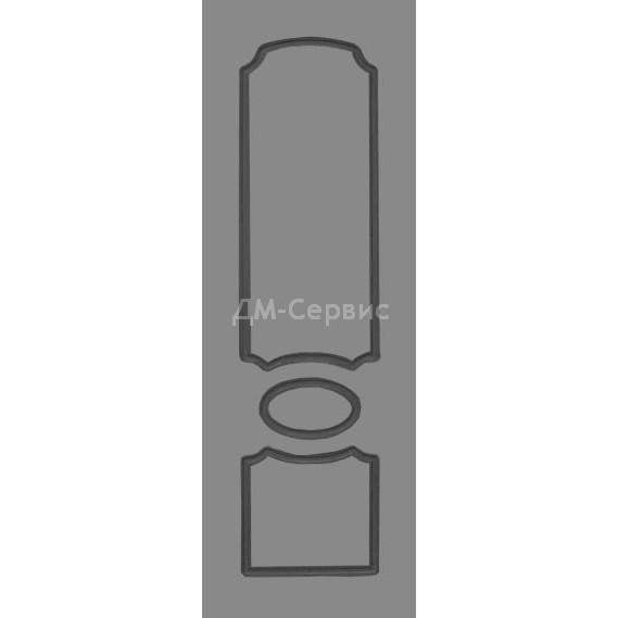 Крашенная дверь эконом класса «Глория» (глухая)