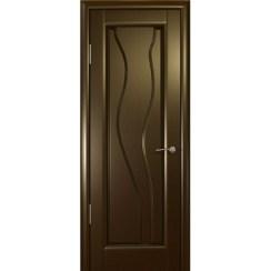 Межкомнатная шпонированная дверь «Гольфстрим» (глухая)