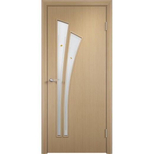 Межкомнатная ламинированная дверь «C-7 Ф» (со стеклом)