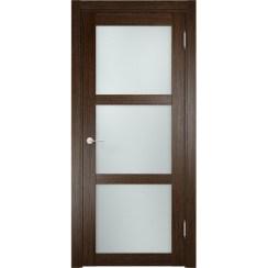 Дверь «Eldorf Баден 2 ДО» с 3D покрытием (со стеклом)