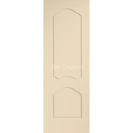 Крашенная дверь эконом класса «Каролина» (глухая)