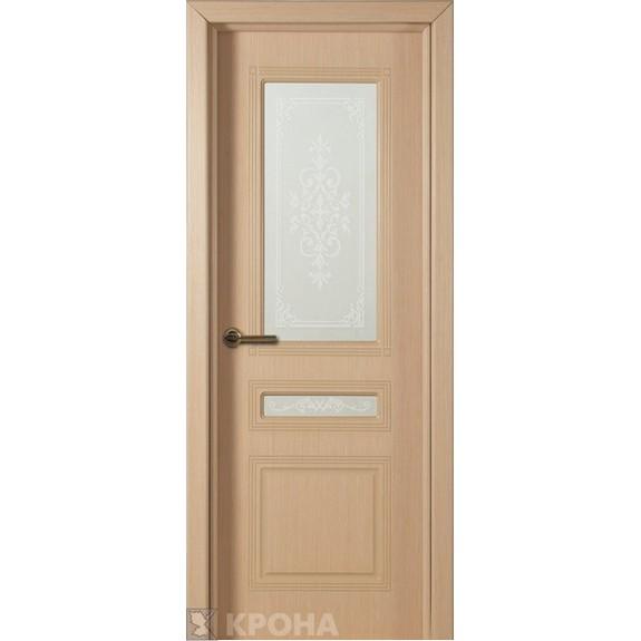Межкомнатная дверь с натуральным шпоном «Стиль ДО» (со стеклом)