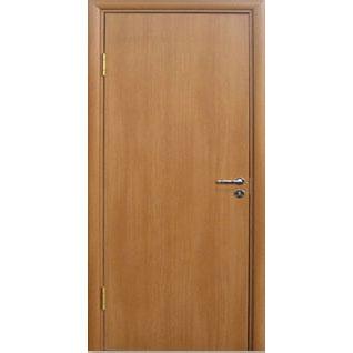 Межкомнатная дверь из вспененного ПВХ (глухая, миланский орех)