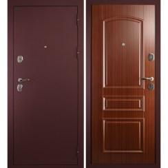 Входная металлическая дверь Сударь-3 (брусника)