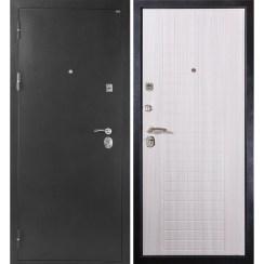 Входная металлическая дверь МД-26 (серебро)
