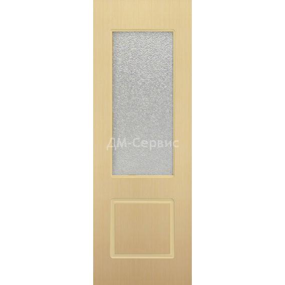 Межкомнатная шпонированная дверь «Марсель» (со стеклом)