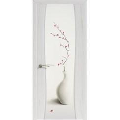 Межкомнатная шпонированная дверь «Буревестник-2 City style» (со стеклом)