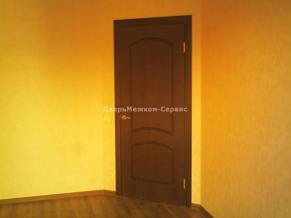 Дверь облицованная натуральным шпоном