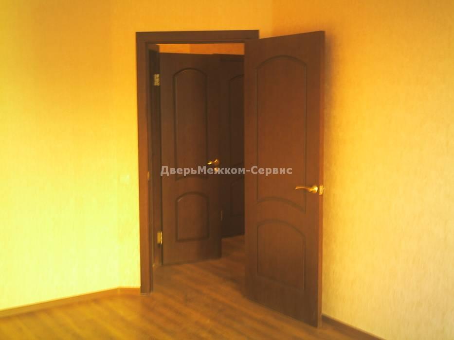 Двери межкомнатные облицованные шпоном