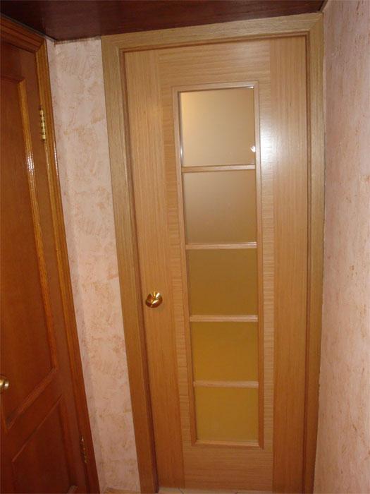 Одностворчатая кухонная дверь