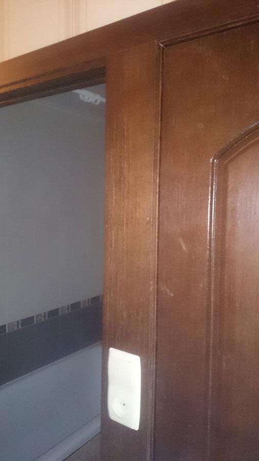 Шпонированная дверь Наполеон
