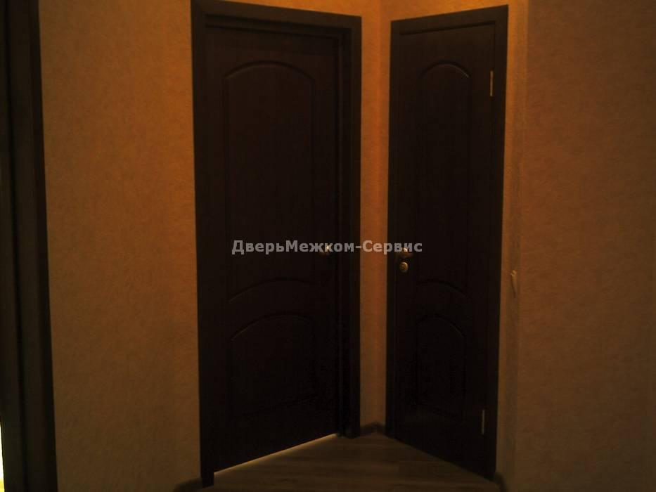Шпонированные межкомнатные двери в квартире