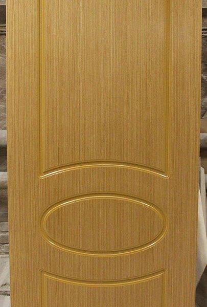 Межкомнатная шпонированная дверь «Джаз» (глухая)