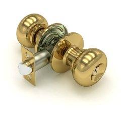 Дверная ручка-кноб «682 E» (ключ/фиксатор)