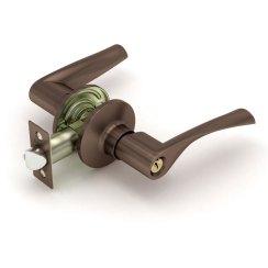 Дверная ручка-защелка «894 E» (ключ/фиксатор)