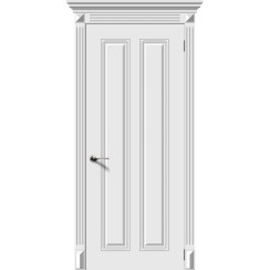 Межкомнатная дверь эмаль «Ретро 2» (глухая)