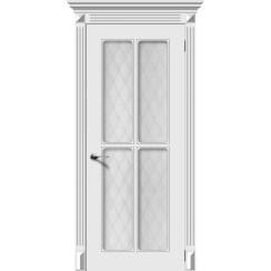 Межкомнатная дверь эмаль «Ретро 4» (со стеклом)