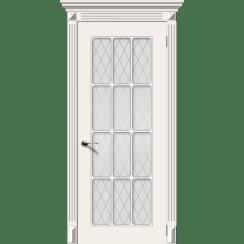 Межкомнатная дверь эмаль классика «Ноктюрн 2» (со стеклом)