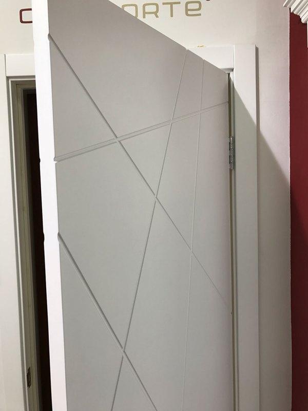 Межкомнатная дверь эмаль «Вектор» (глухая)