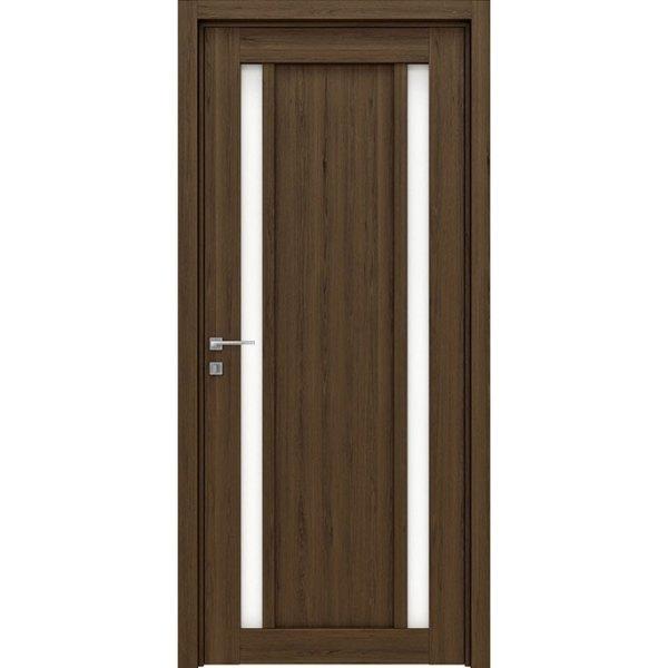 Межкомнатная царговая дверь из ДПК «Sei» (со стеклом)