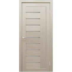 Межкомнатная дверь экошпон Y-4 стекло сатинато